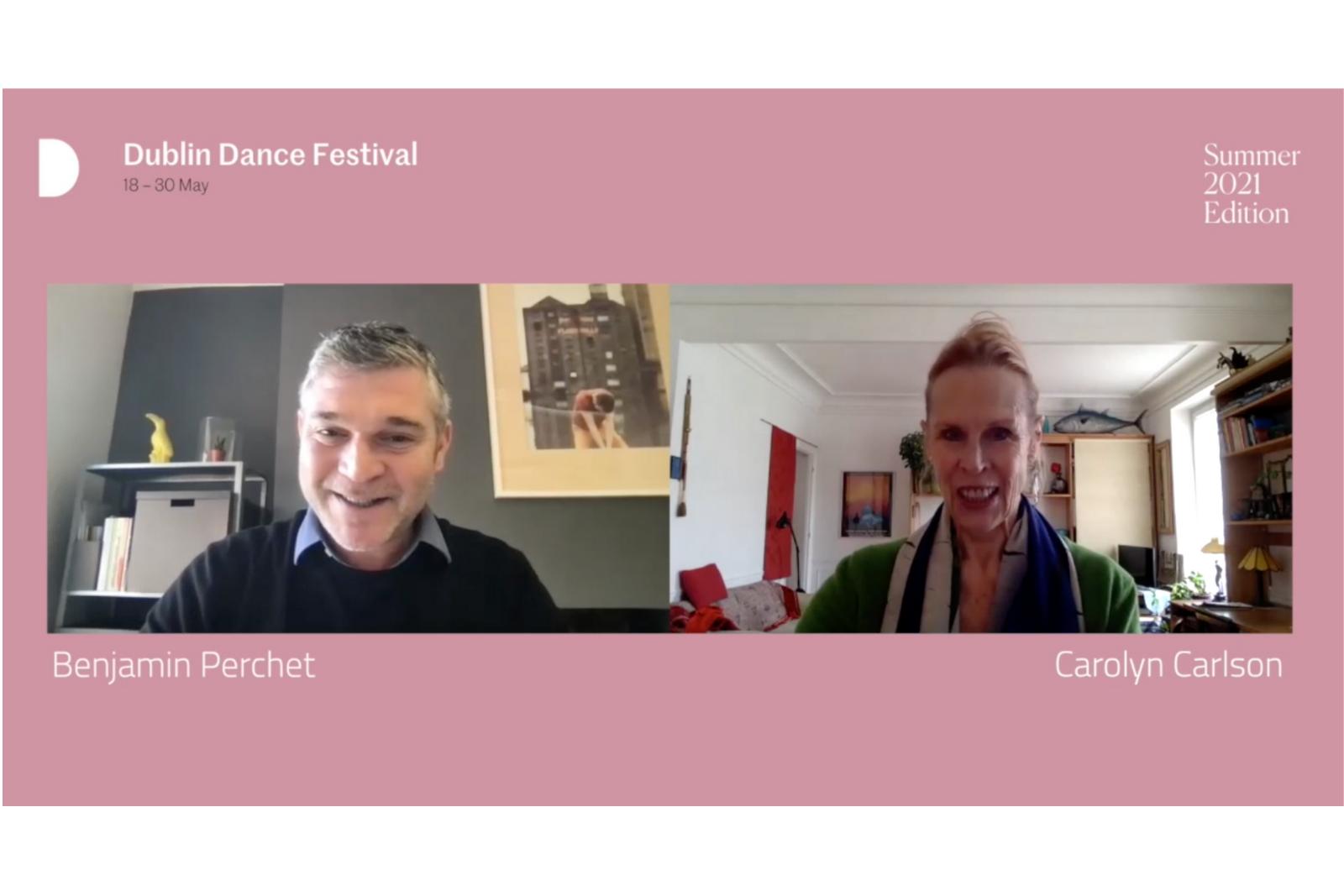 Carolyn Carlson in conversation with DDF Artistic Director Benjamin Perchet