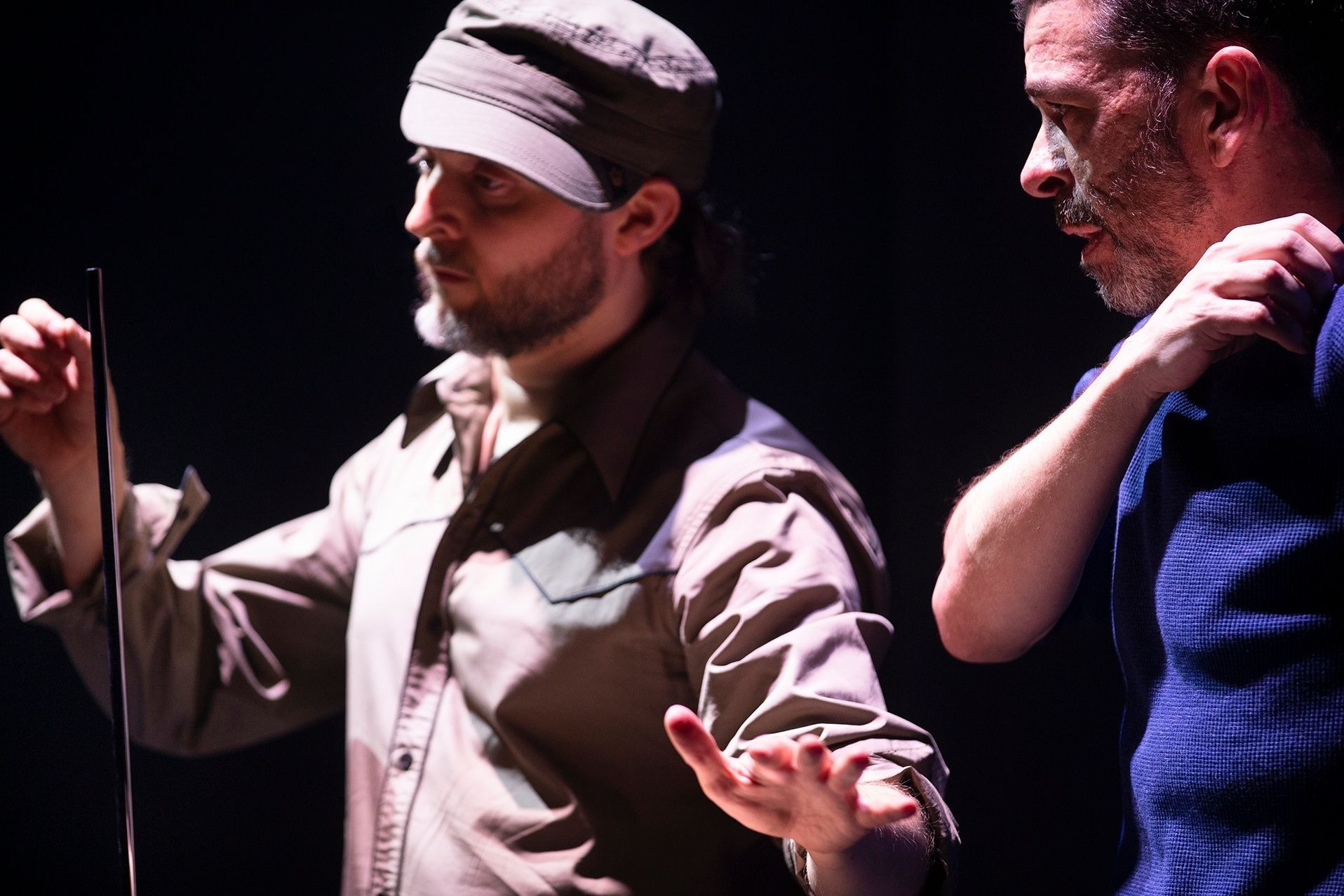 Session by Colin Dunne and Sidi Larbi Cherkaoui © Koen Broos
