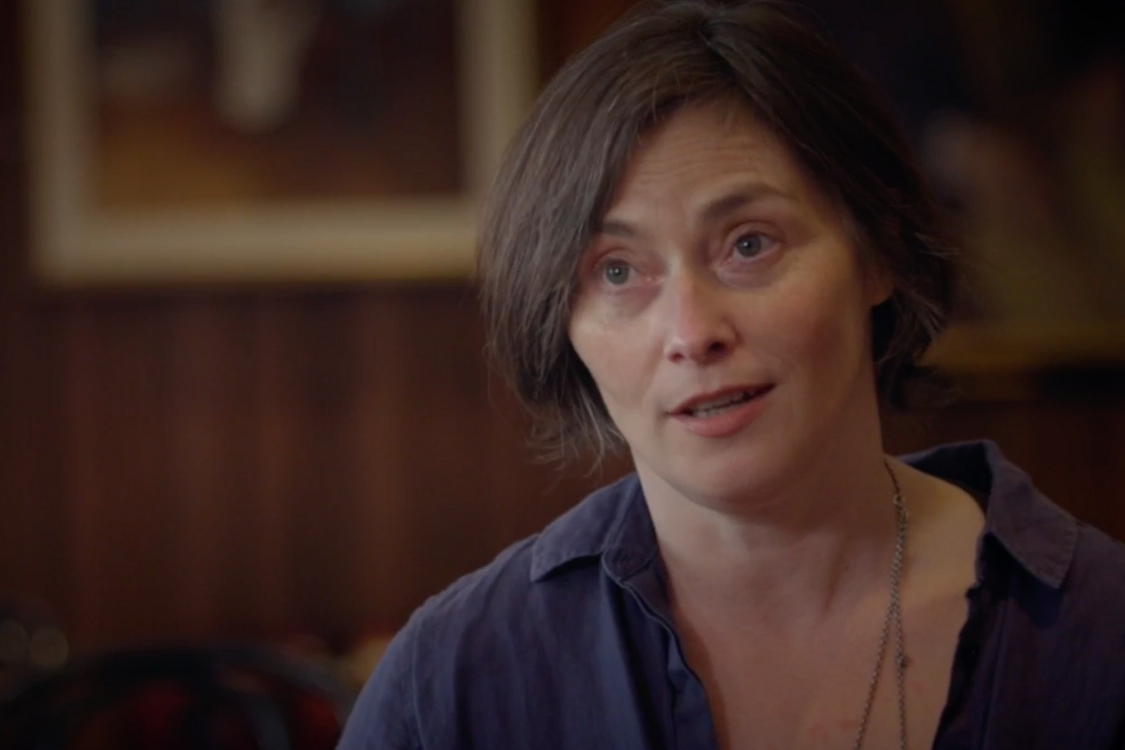 """Liz Roche discussing working on """"dēmos"""""""