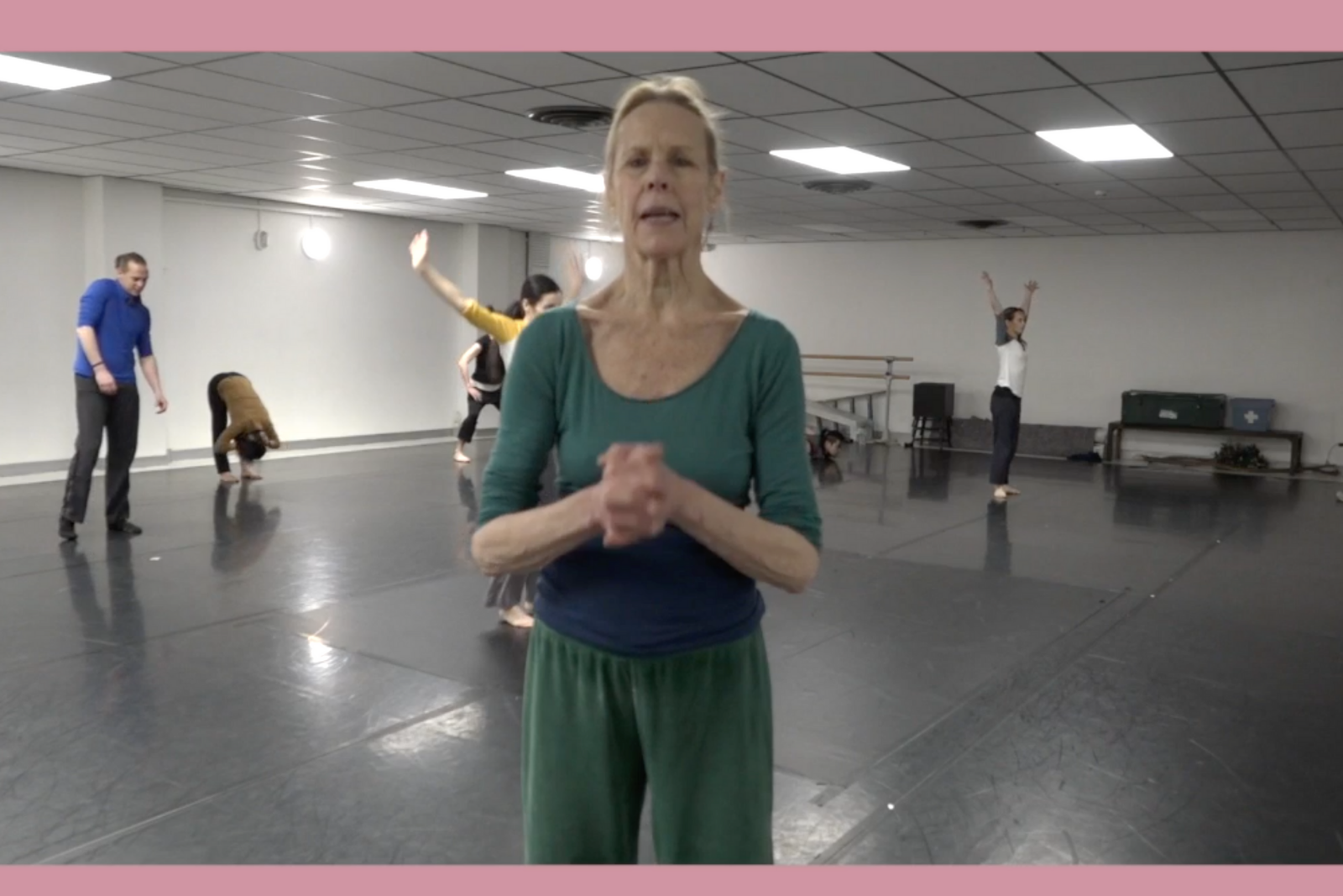 Master Class with Carolyn Carlson and her company dancers