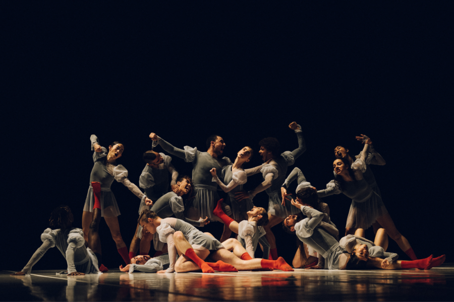 One Of Four Periods In Time by Tânia Carvalho / Ballet national de Marseille © Théo Giacometti