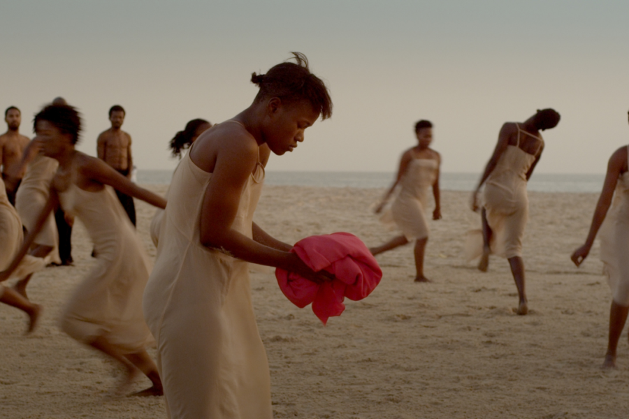 Dancing at Dusk – A moment with Pina Bausch's The Rite of Spring by Pina Bausch Foundation, École des Sables and Sadlers Wells © polyphem Filmproduktion