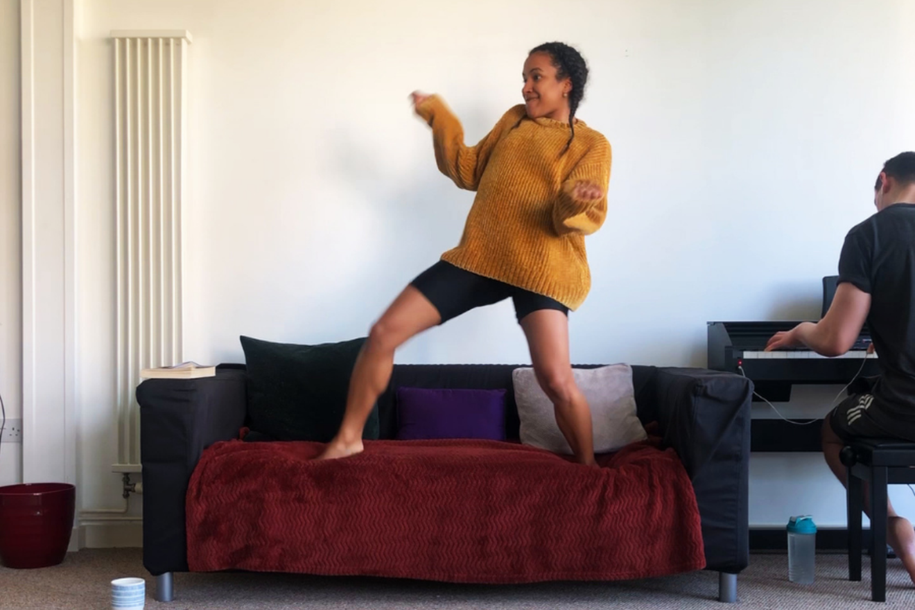 The Sofa Dance – Family Workshop