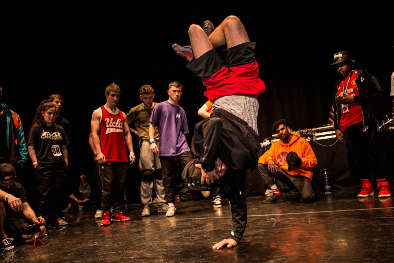 Take Your Spot with Top 8 Street Dance Battle