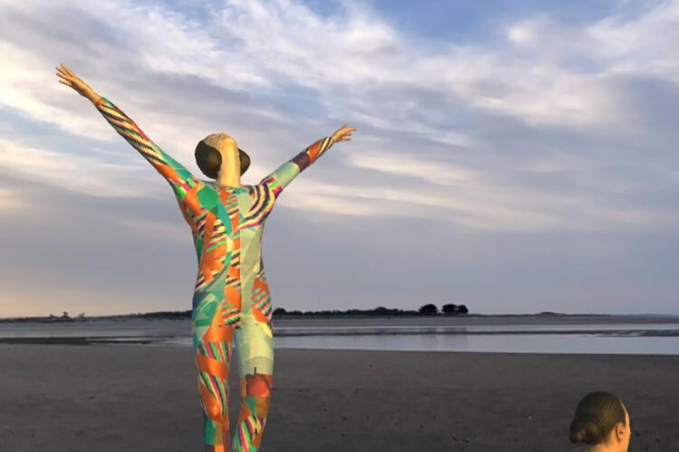 Augmented Reality dancers explore Dublin